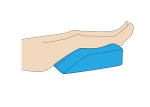 足枕 正しい位置